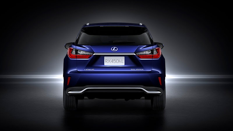 $50,000 2018 Lexus RX 450hL Hybrid AWD announced