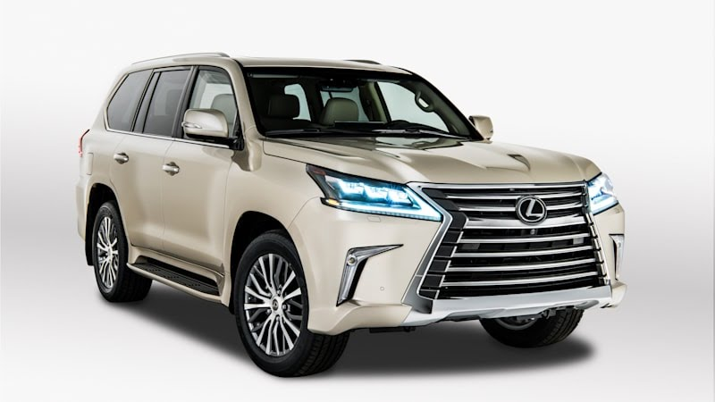 2018 Lexus LX 570 with 2-row seating only
